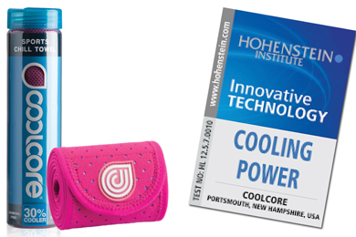 Award-winning Coolcore tops for cooling athletes