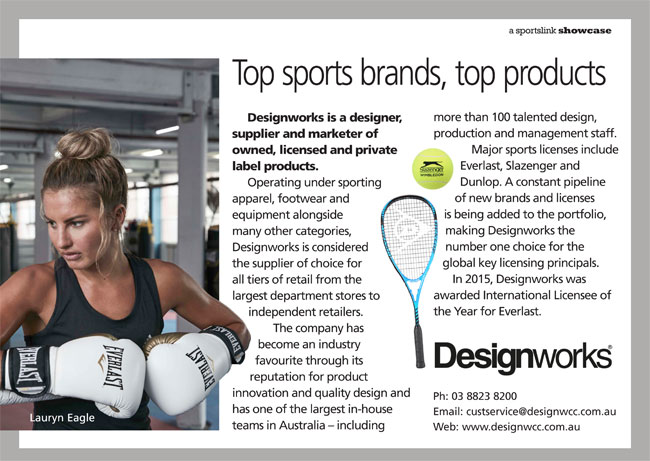 Designworks: Top sports brands, top products