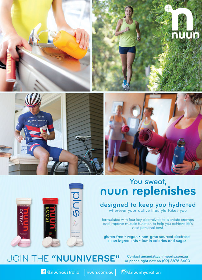 You sweat, nuun replenishes by Zen Imports in West Ryde NSW