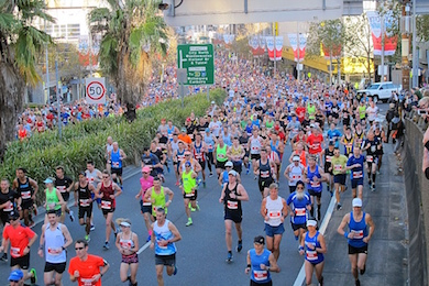 Nuun runs City2Surf with 80,000 by Zen Imports in West Ryde NSW