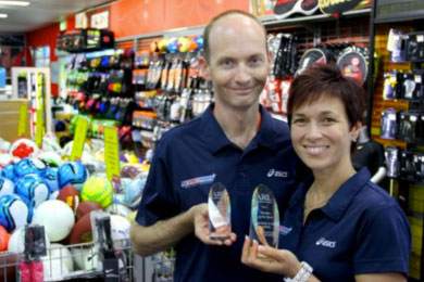 Two decades, and store sees a party by SportsPower Australia in Richmond VIC