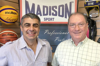 Garozzo links up with Carmody again by Madison Sport Pty Ltd in Banyo QLD