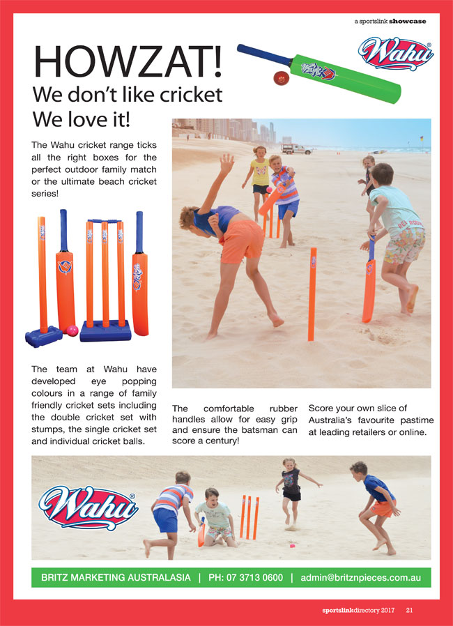 Howzat! We don't like cricket, we love it by Britz Marketing Australasia in  Inala QLD