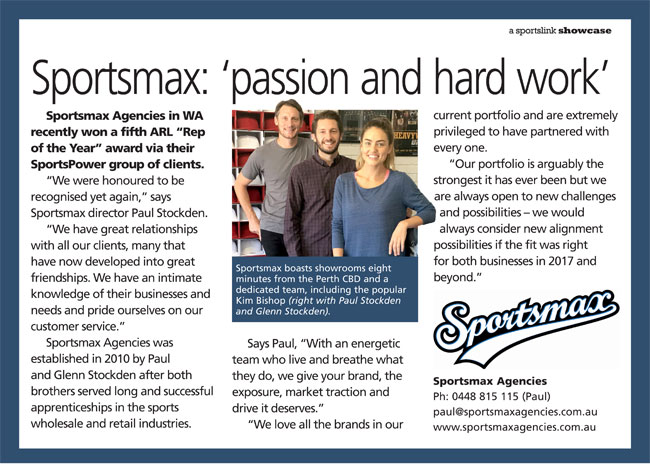 Sportsmax: 'passion and hard work'