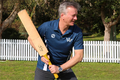 OnTheGo, Steve Waugh team up by Sportslink in Cooran QLD