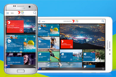 Web, app add Olympic audience for Seven by Sportslink in Cooran QLD