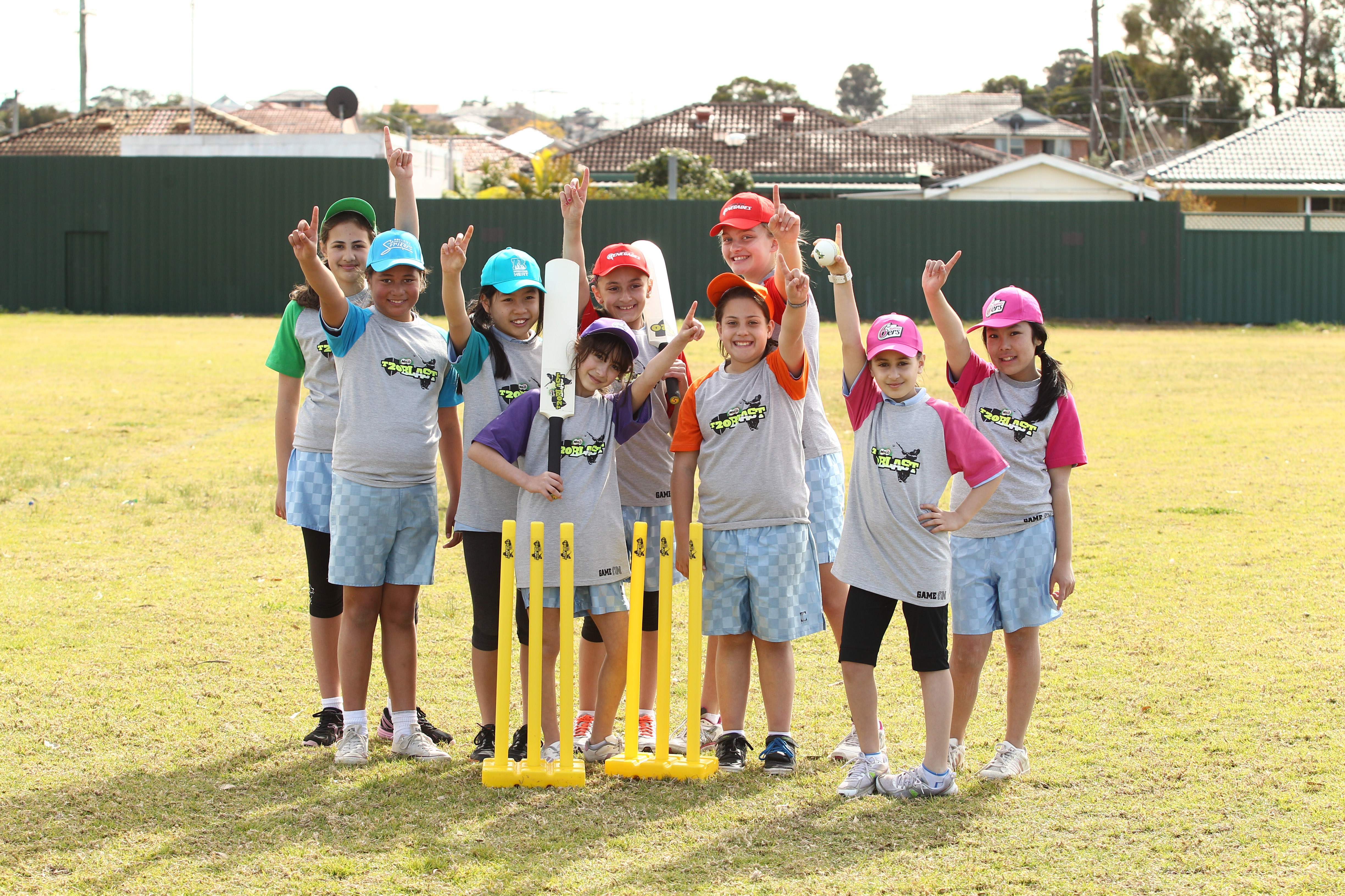 Cricket bats for player records by Sportslink in Cooran QLD