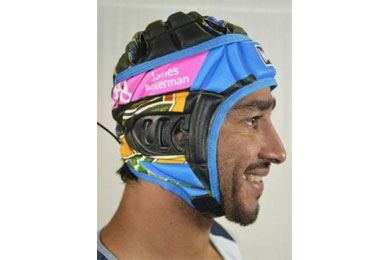 Headguard launch at Sunny Coast store by Sportslink in Cooran QLD