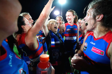 Rebel kicks off with AFLW by Sportslink in Cooran QLD