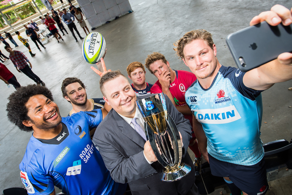 Vodafone signs up to Super Rugby by Sportslink in Cooran QLD