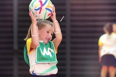 Netball pushes the cute factor by Sportslink in Cooran QLD