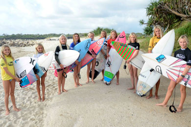 Wahu surfers back for HPC camps by Sportslink in Cooran QLD
