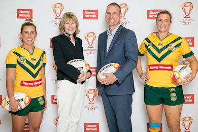 Katie's team partners women's world cup by Sportslink in Cooran QLD