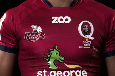 Reds join the Zoo for new kit by Sportslink in Cooran QLD