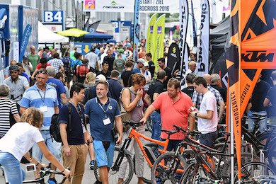 Eurobike beefs up the demo area by Sportslink in Cooran QLD