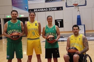 Basketball Australia climbs Peak for apparel by Sportslink in Cooran QLD